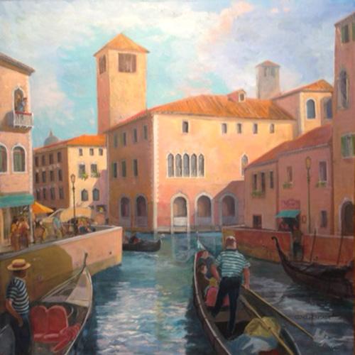 Venice Traffic Jam