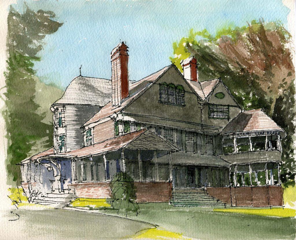 Bell House, Newport