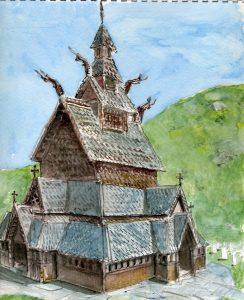 Norwegian Wooden Church
