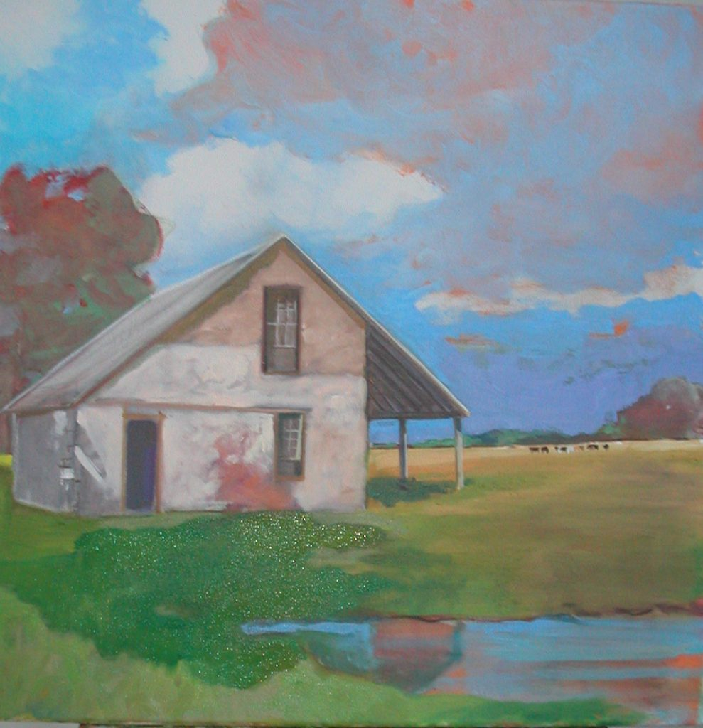 """Country Home 4 Me,"" a painting by Clovis Heimsath, artist (Architecture)"