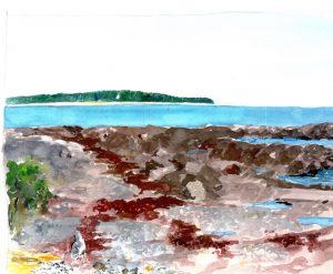 """Clovis Maine 2009,"" a painting by Clovis Heimsath, artist (Landscapes)"