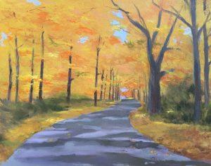 """Fall 6,"" a painting by Clovis Heimsath, artist (Landscapes)"