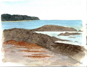 """""""Maryann Maine 09,"""" a painting by Maryann Heimsath, artist (Landscapes)"""
